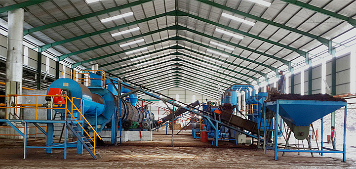 Engineering Projects for 50000tons Compound Fertilizer Production Line in Indonesia in 2010(NPK Machinery)